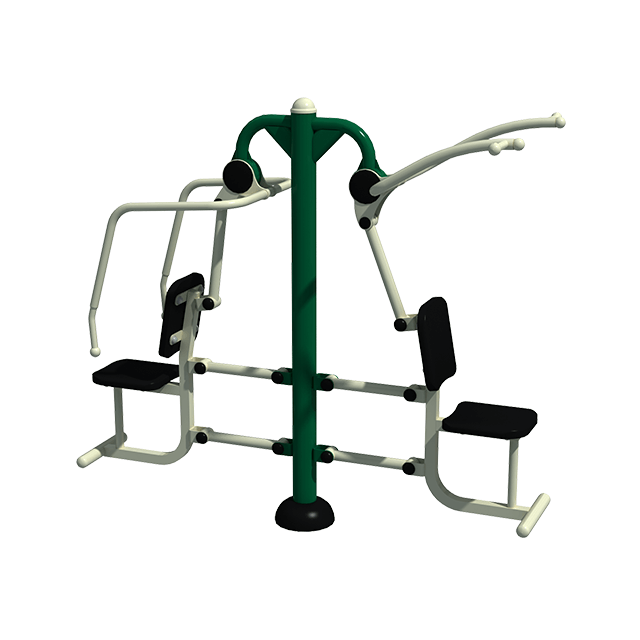 Combination Pull Down & Chest Press