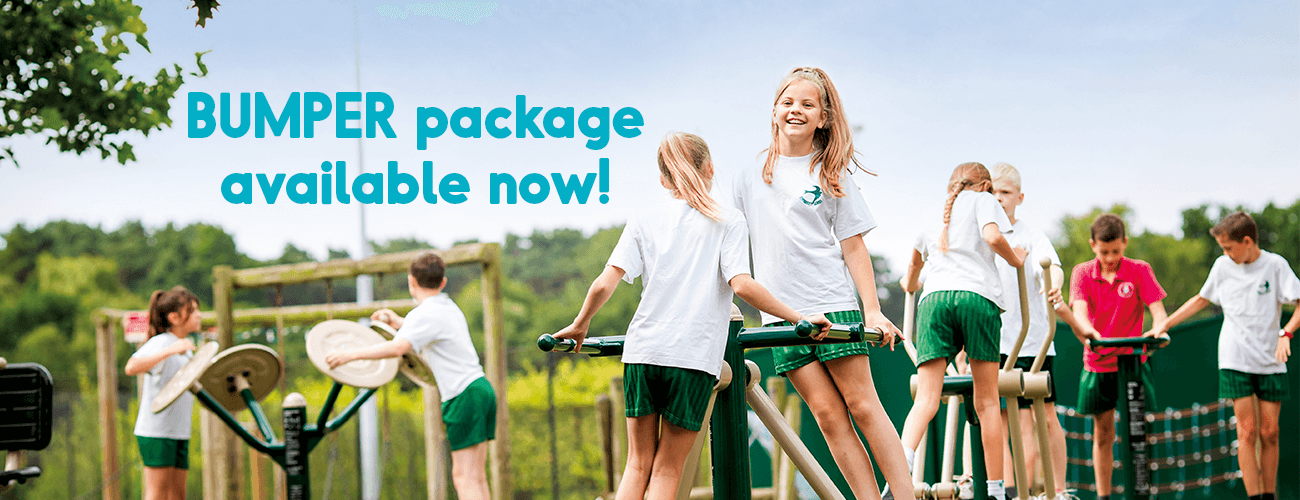Outdoor Gym Equipment Primary Schools Package Deal