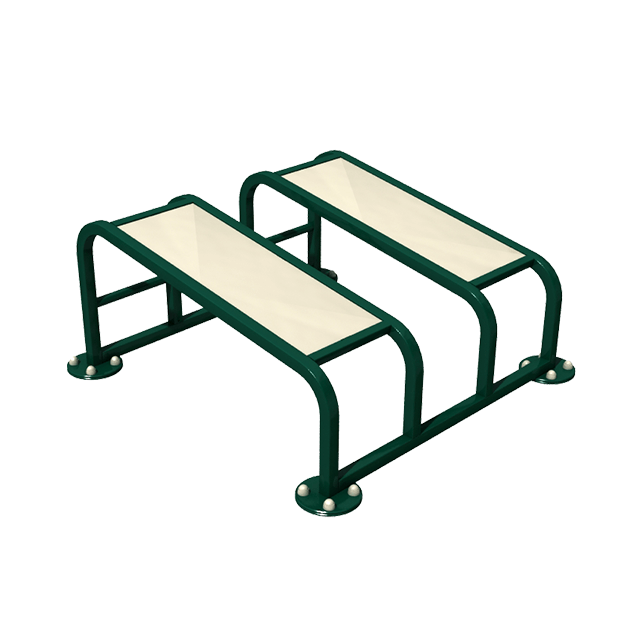 Outdoor Gym Equipment, The Fresh Air Fitness Double Sit Up Benches