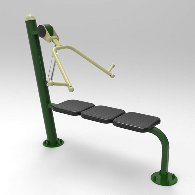 Fresh Air Fitness Resistance Bench Press for Outdoor Gym