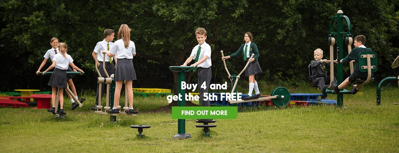 Primary School Outdoor Gym Sale Package