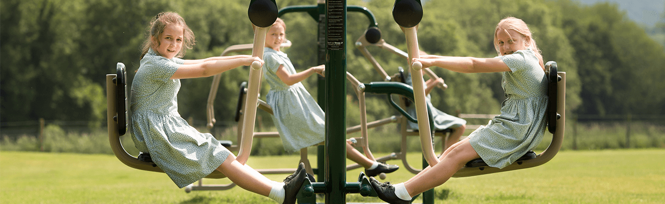 Fresh Air Fitness outdoor gym maintenance, School Hampshire