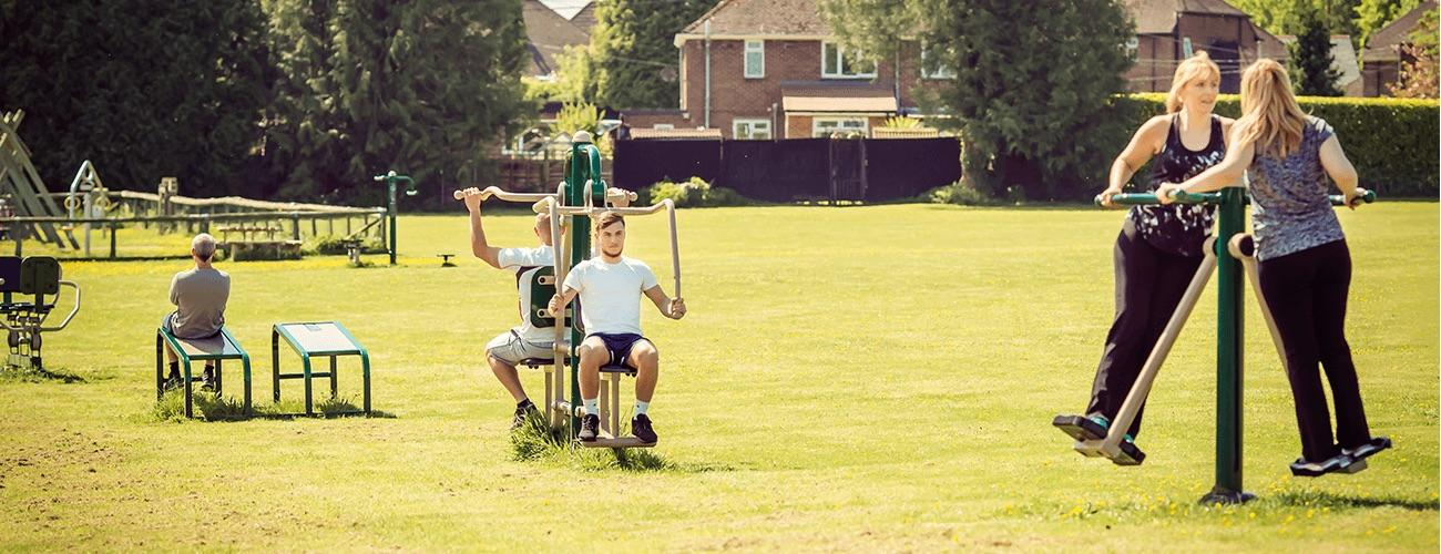 Outdoor Gym Equipment in Hampshire Fresh Air Fitness