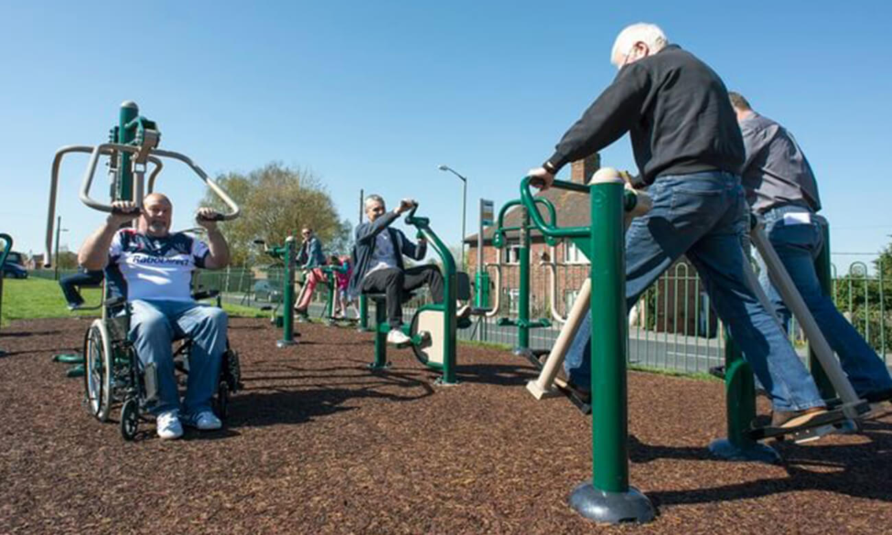 Outdoor Gym Equipment: For Parks, Schools, Senior Fitness ...