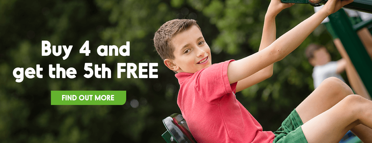 Buy 4 get 5th Free Primary School Outdoor Gym Equipment Offer